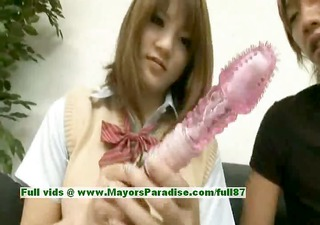 risa tsukino innocent oriental beauty is a cute